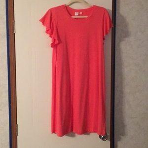 Women's coral dress